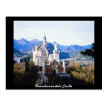 Neuschwanstein Castle Germany Postcard