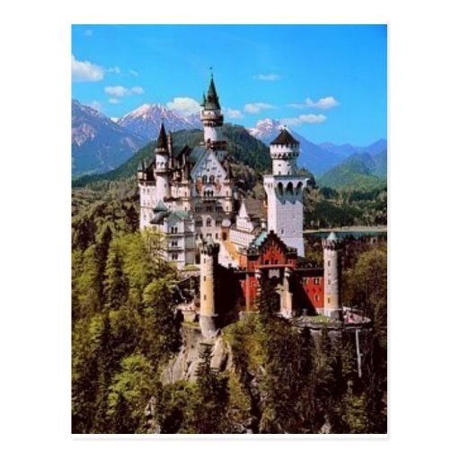 neuschwanstein castle - germany postcards