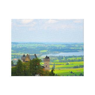 Neuschwanstein Castle in Bavaria Germany Canvas Print