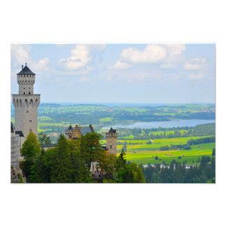 Neuschwanstein Castle in Bavaria Germany Photo Print