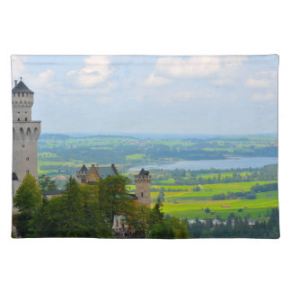 Neuschwanstein Castle in Bavaria Germany Placemat