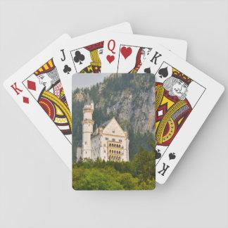 Neuschwanstein Castle in Bavaria Germany Playing Cards