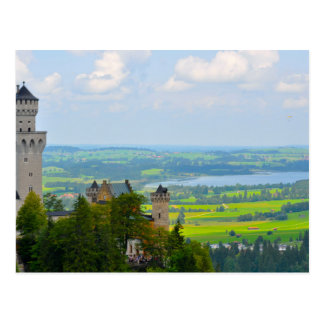 Neuschwanstein Castle in Bavaria Germany Postcard