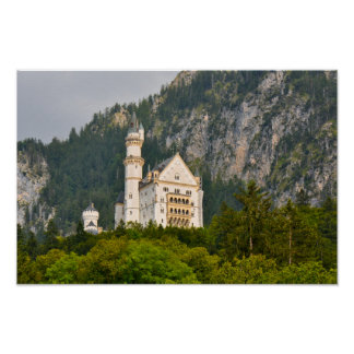 Neuschwanstein Castle in Bavaria Germany Poster