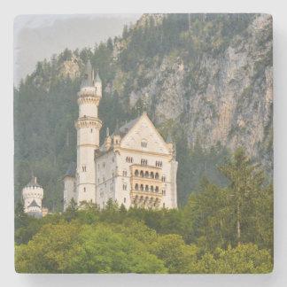 Neuschwanstein Castle in Bavaria Germany Stone Coaster