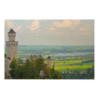 Neuschwanstein Castle in Bavaria Germany Wood Print
