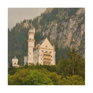 Neuschwanstein Castle in Bavaria Germany Wood Wall Art