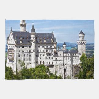 Neuschwanstein Castle Tea Towel
