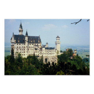 Neuschwanstein, Germany Poster
