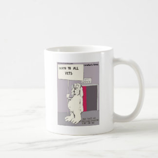 Neutered Dog Fights Back Funny Gifts & Tees Mugs