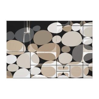 Neutra Pebbles Canvas Print