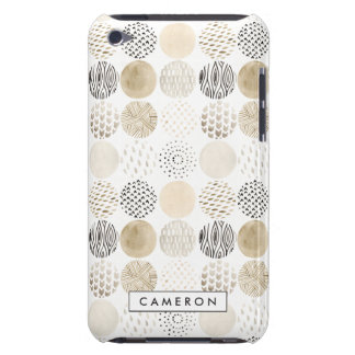 Neutral Abstract Circle Pattern iPod Touch Cover