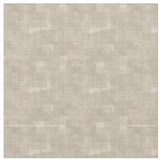 Neutral Brown Abstract Pattern Fabric
