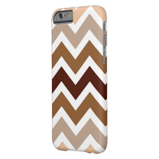 Neutral Browns Chevron Pattern iPhone 5 Case
