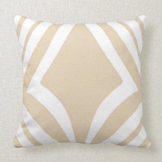 Neutral Diamond Double-Sided Minimalist Print Cushion