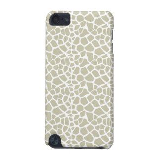 Neutral Giraffe Print iPod Touch 5G Case