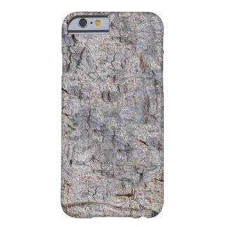 Neutral Nature Tree Bark Photo Barely There iPhone 6 Case