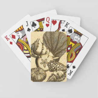 Neutral Shells and Coral Collection Playing Cards