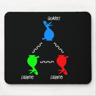 Neutron Quark Duck Mouse Pad