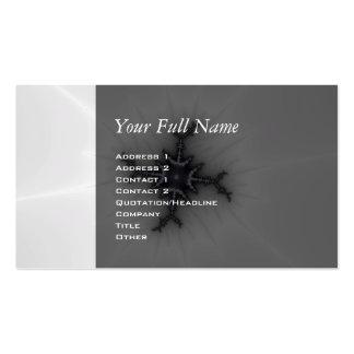 Neutron Star - Fractal Art Business Card Template