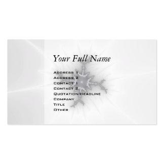 Neutron Star - Fractal Art Business Card Templates
