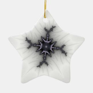 Neutron Star - Fractal Art Christmas Tree Ornament