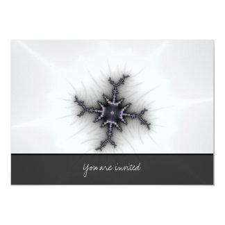 "Neutron Star - Fractal Art 5"" X 7"" Invitation Card"