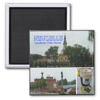 Neuzelle, Neuzelle, Landkreis Oder-Spree Square Magnet