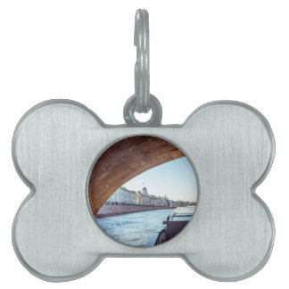 Neva River Cruise Pet ID Tag
