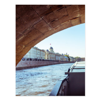 Neva River Cruise Postcard