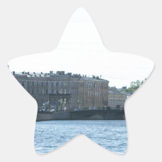 Neva River Cruise Star Sticker