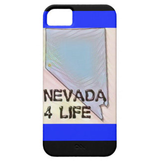"""Nevada 4 Life"" State Map Pride Design Barely There iPhone 5 Case"