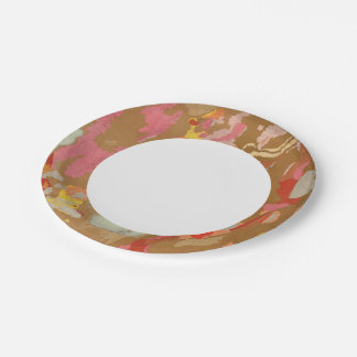 Nevada Basin Geological 7 Inch Paper Plate