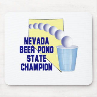 Nevada Beer Pong Champion Mouse Pad