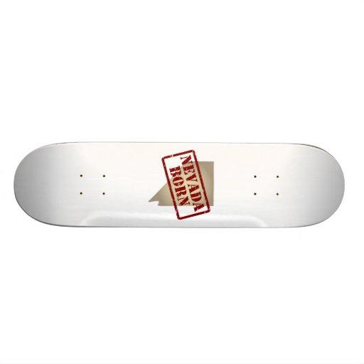 Nevada Born - Stamp on Map Skateboards