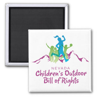 Nevada Children's Outdoor Bill of Rights magnet