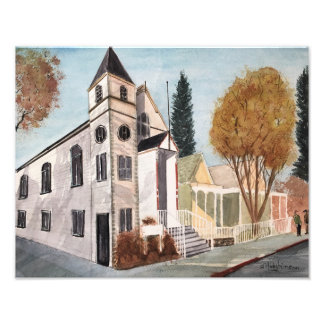 NEVADA CITY Photo Print