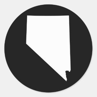 Nevada Classic Round Sticker