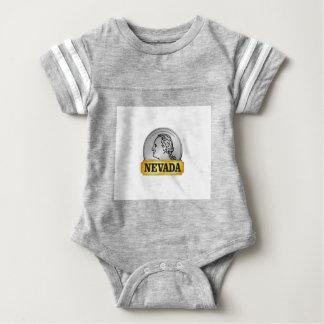 nevada coin baby bodysuit