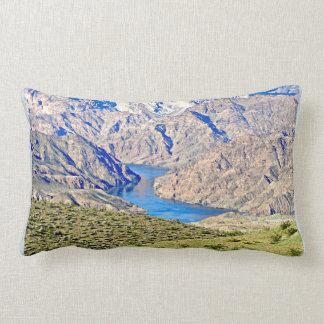 Nevada Colorado River Lumbar Pillow