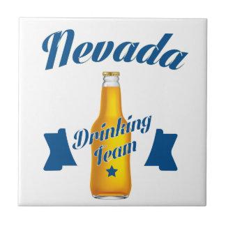 Nevada Drinking team Ceramic Tile