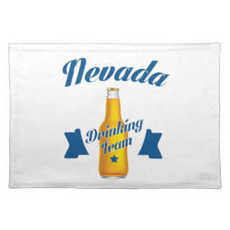 Nevada Drinking team Placemat
