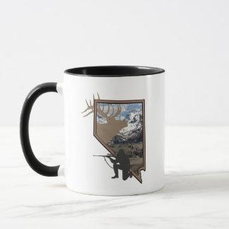 Nevada Elk Hunting Mug