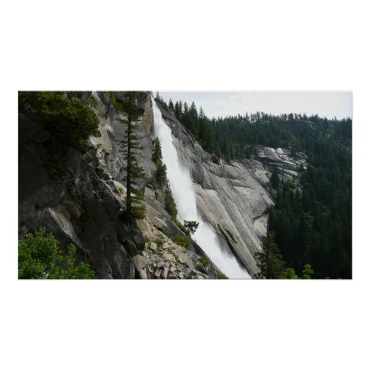 Nevada Falls at Yosemite National Park Poster