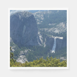 Nevada Falls from the Panorama Trail Yosemite Disposable Napkins