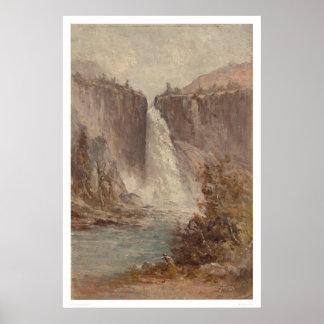 Nevada Falls, Yosemite (1252) Poster