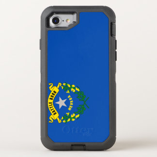 Nevada Flag OtterBox Defender iPhone 8/7 Case