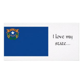 Nevada Flag Custom Photo Card