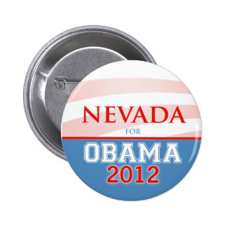 NEVADA for Obama 2012 Pinback Button