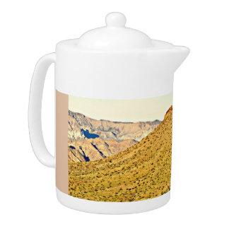 Nevada Golden Mountain Tea Pot